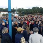 Aperçu de la foule